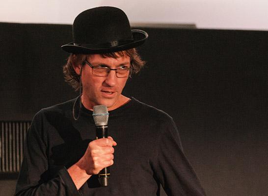 Richard Milne at Just Festival